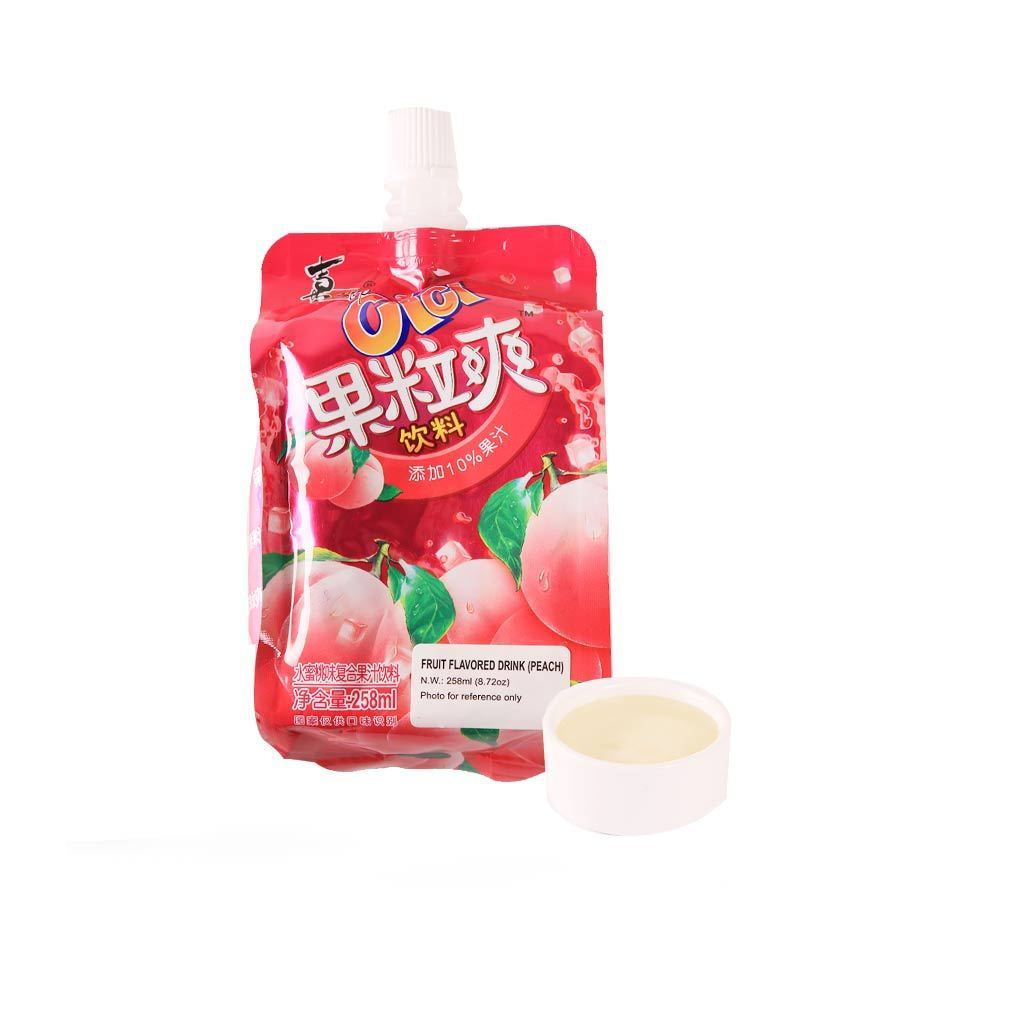 Cici Peach Flavor Jelly Juice - 258ml Snackoo