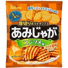 Consomme taste potato chips-60g Snackoo