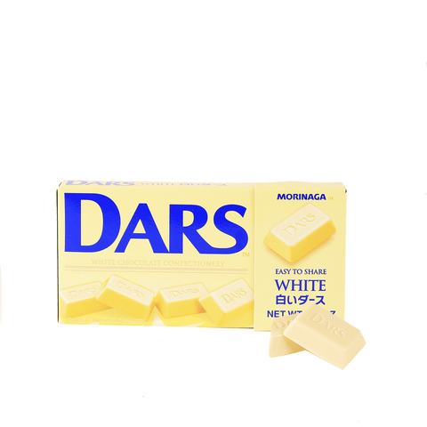 Dars White Chocolate - 12 PCS Snackoo