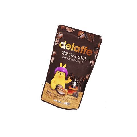 Delaffe Americano Sweet Coffee - 190ml Snackoo