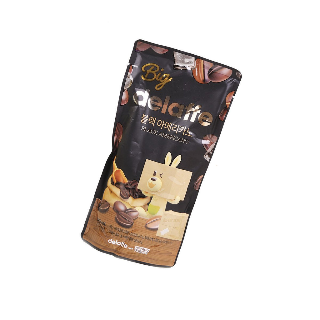 Delaffe Black Americano Coffee - 345ml Snackoo