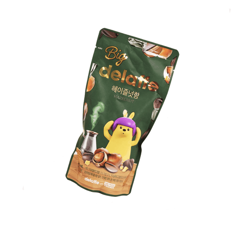 Delaffe Hazelnut Coffee - 345ml Snackoo