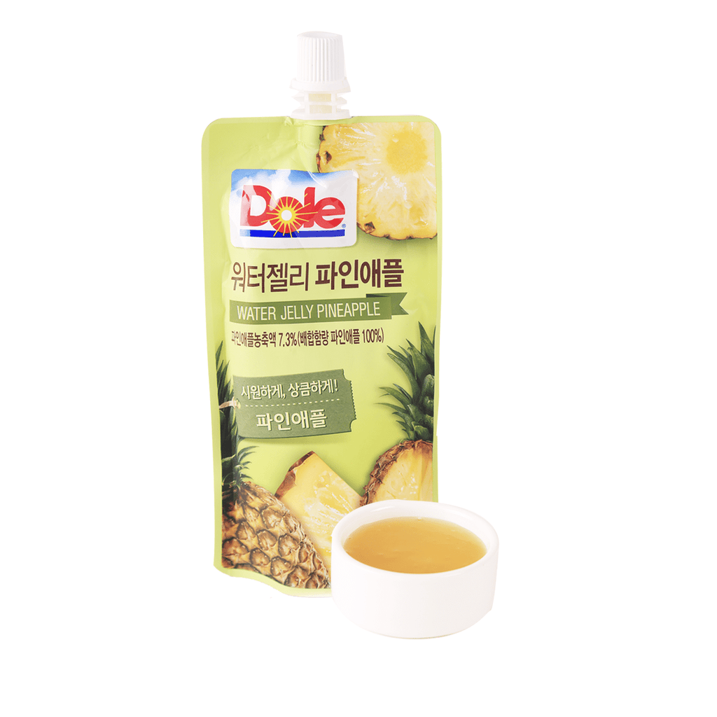 Dole Water Jelly Pineapple - 130ml Snackoo