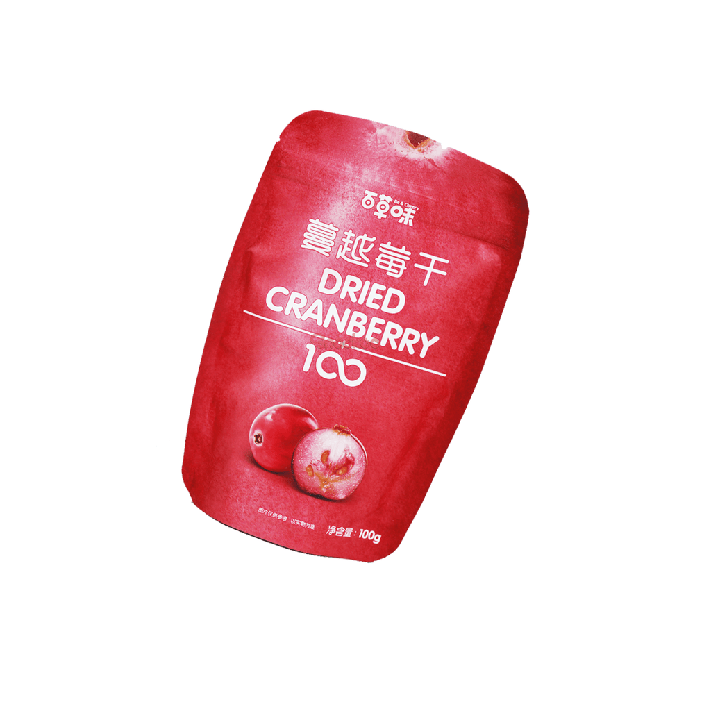 Dried Cranberry - 100g Snackoo
