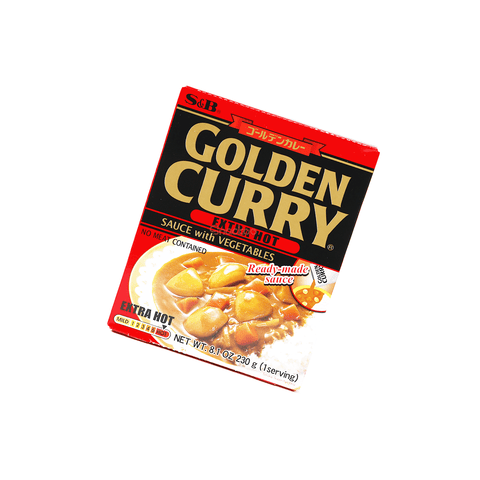 Extra Hot Golden Curry with Vegetables - 230g Snackoo