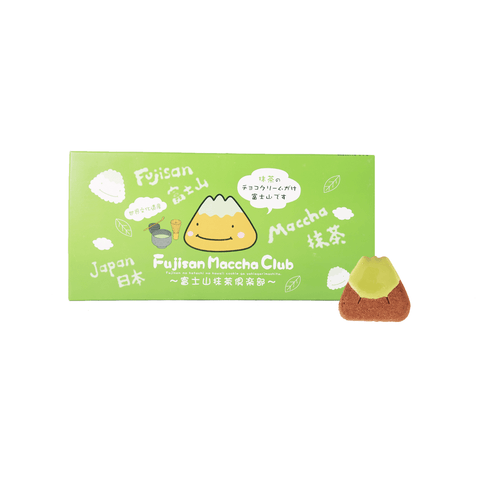 Fujisan Maccha Club Cookie - 20 PCS Snackoo