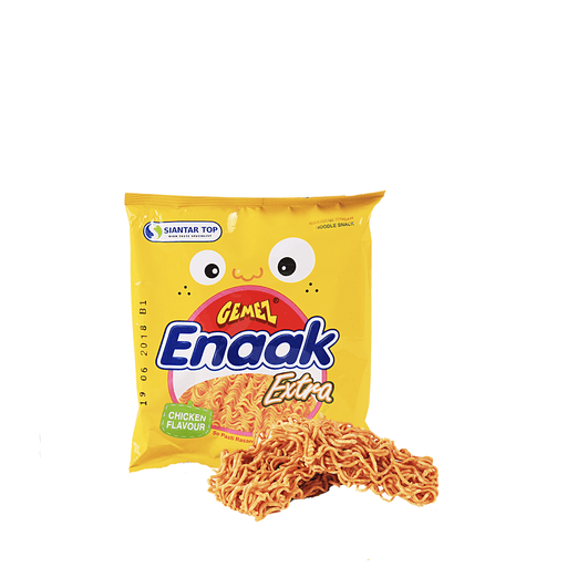 Gemez Enaak Noodle Snack Grilled Chicken Flavor - 30g Snackoo