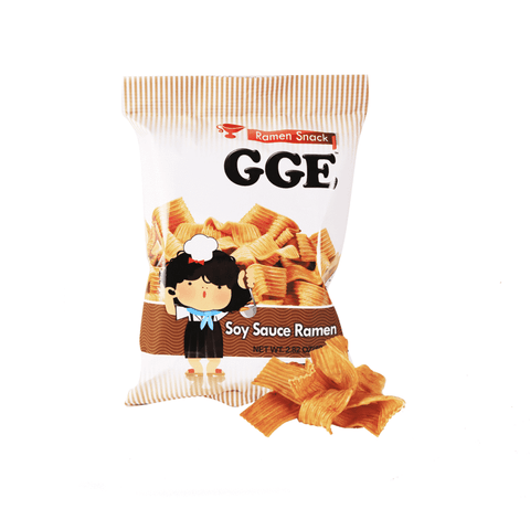 GGE Ramen Snack Soy Sauce - 80g Snackoo