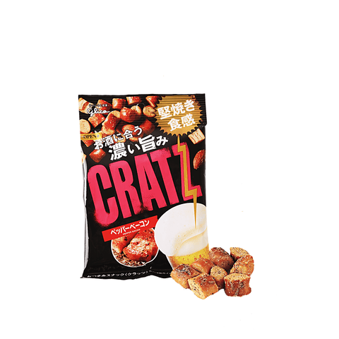 Glico Kratz Ezaki Pepper Bacon - 42g Snackoo