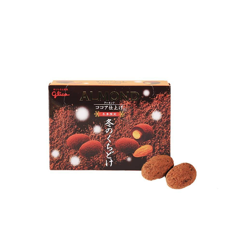 Glico Winter Melty Almond Cocoa Chocolate Snackoo