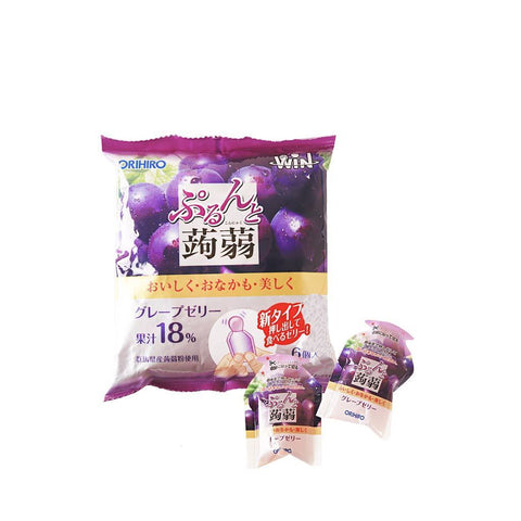 Grape Jelly Pouches - 6 PCS Snackoo