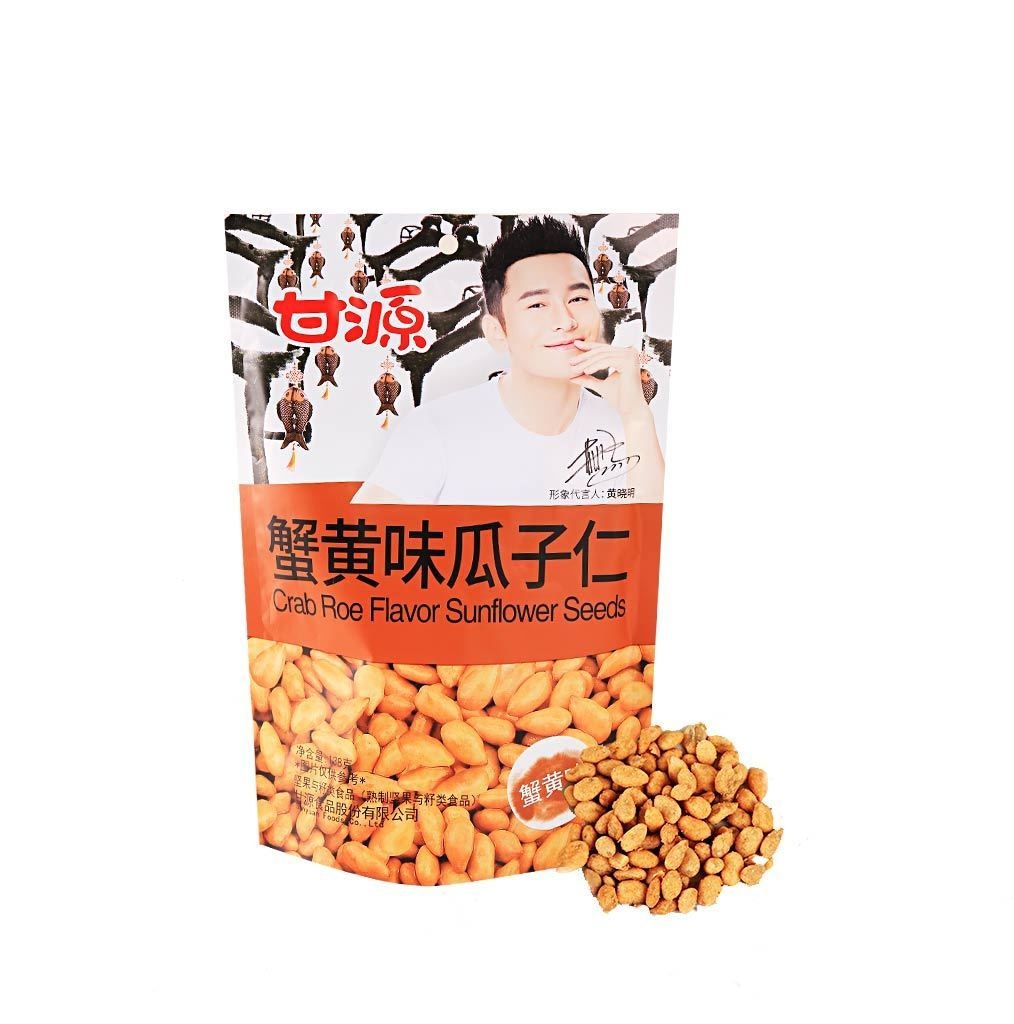 GY Sunflower Seeds Crab Roe Flavor - 138g Snackoo
