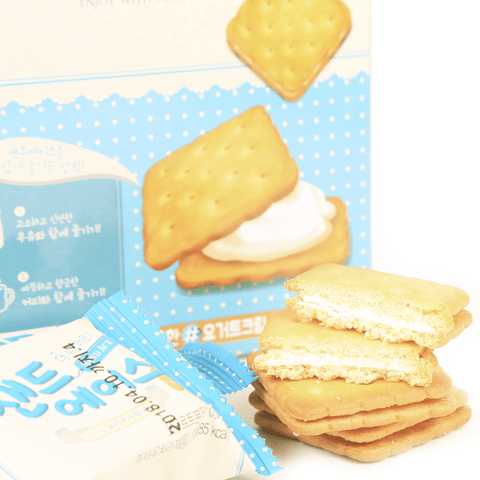 HaiTai Creamy Fresh Yogurt Filling Biscuit - 12 PCS Snackoo