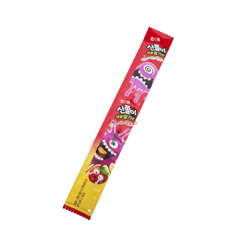 Haitai Korean Strawberry Flavored Sour Belt Candy - 27G Snackoo