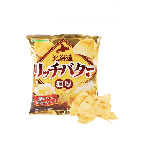 Hokkaido Rich Butter Chip - 55g Snackoo