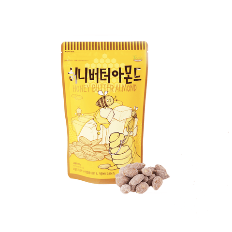Honey Butter Almond -250g Snackoo