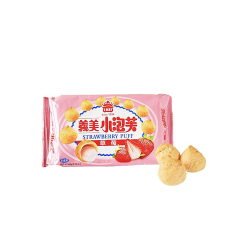 IMEI Strawberry Puff - 65g Snackoo