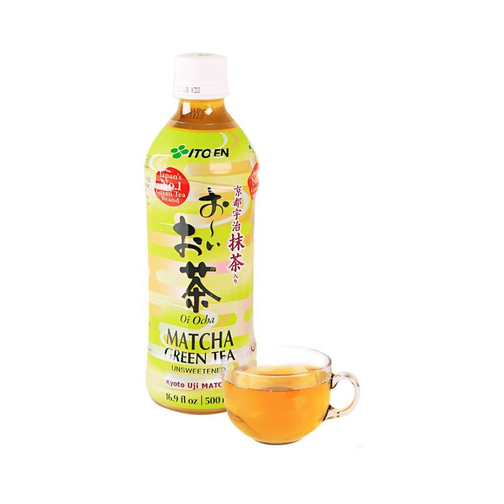 Ito En Unsweetened Matcha Green Tea - 500ml Snackoo
