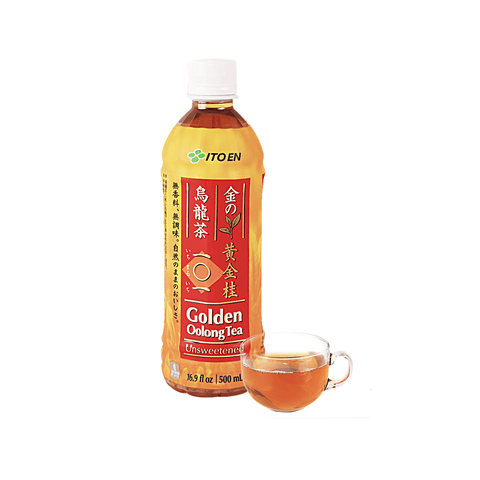 Itoen Golden Oolong Tea Unsweetened - 500ml Snackoo