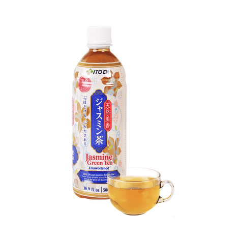 Itoen Jasmine Green Tea Unsweetened - 500ml Snackoo