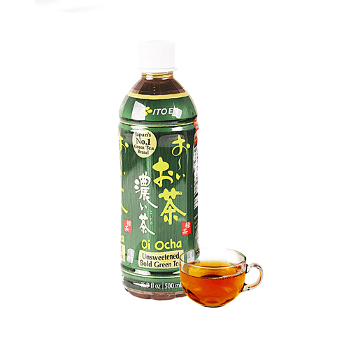 Itoen Unsweetened Bold Green Tea - 500ml Snackoo