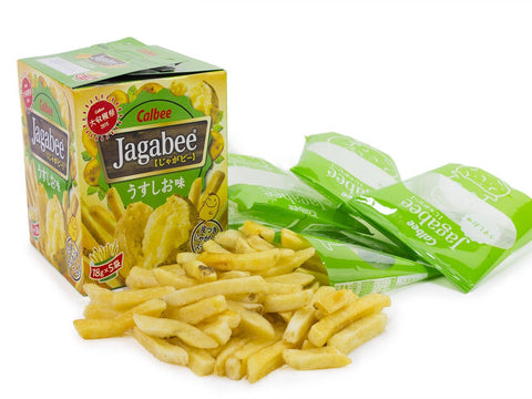 Jagabee Lightly Salted Fries - 5 PCS Snackoo