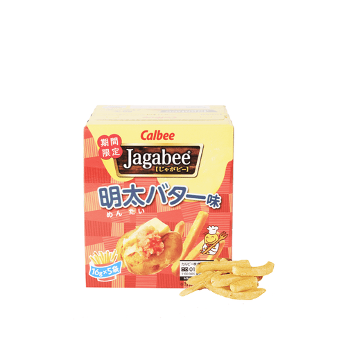 Jagabee Mentaiko Butter Fries - 5 PCS Snackoo