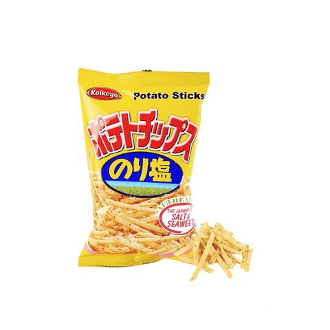 Japanese Salt & Seaweed Potato Stick - 40g Snackoo