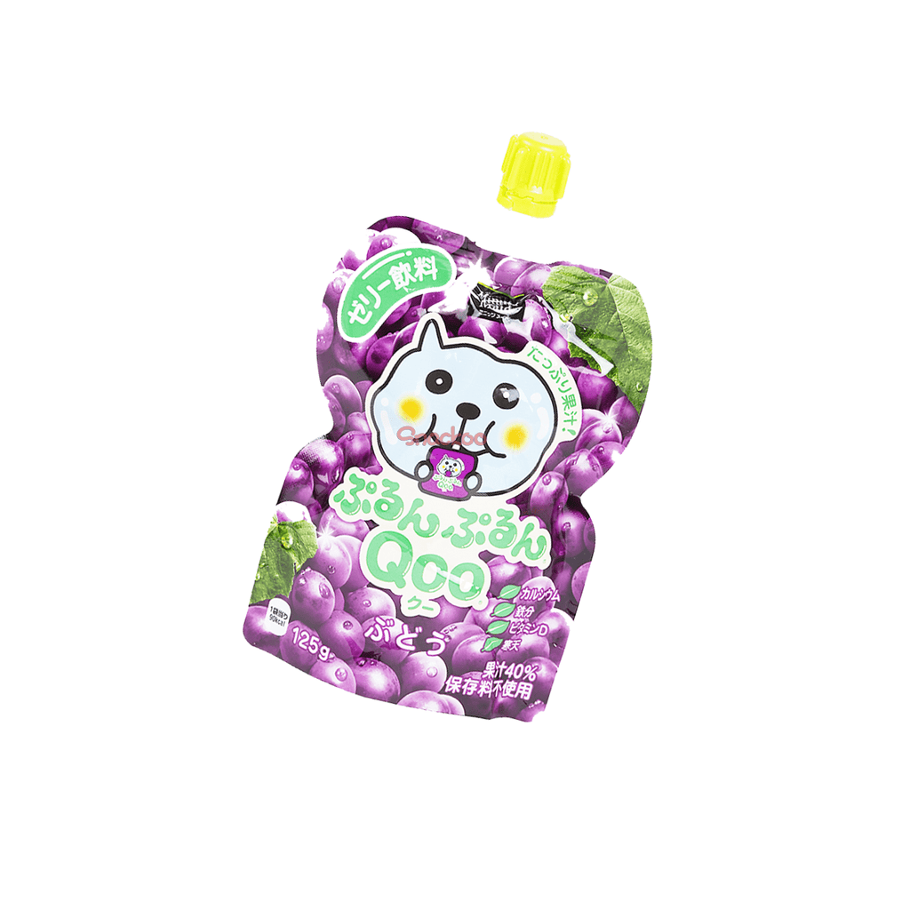 Jelly Drink Purun Purun Qoo Grape - 125g Snackoo