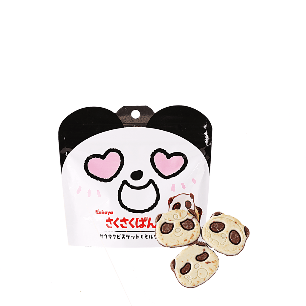 Kabaya Chocolate Covered Panda Biscuit - 42g Snackoo