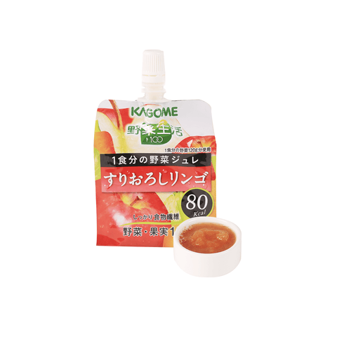 Kagome Vegetable Life Drink Jelly - 180g Snackoo