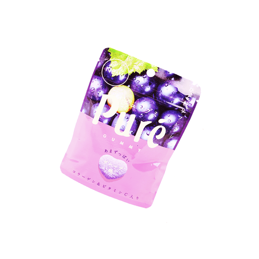 Kanro Pure Grape Gummy - 56g Snackoo