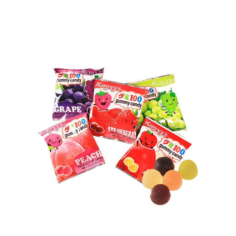 Kasugai Fruit Gummy Candy - 5 Packs Snackoo