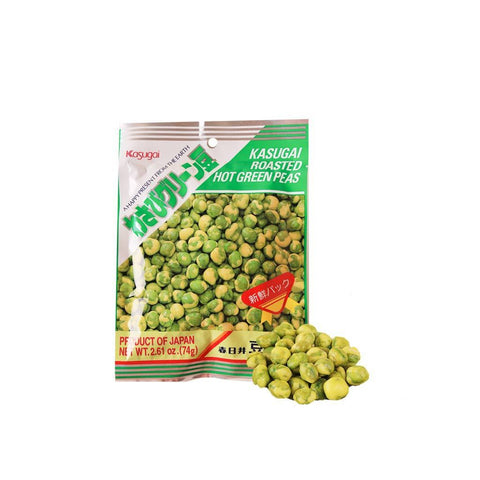 Kasugai Roasted Green Pea - 74g Snackoo