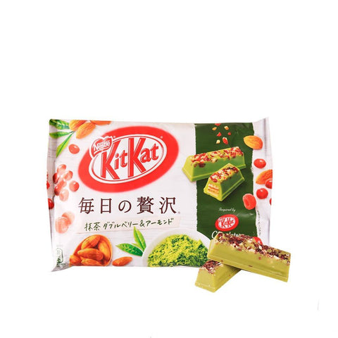 Kit Kat Cranberry&Almond Matcha Flavor- 105g Snackoo