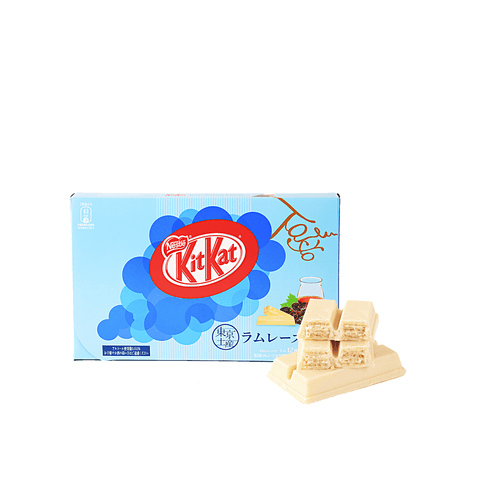Kit Kat Rum Raisin Flavor - 12 PCS Snackoo