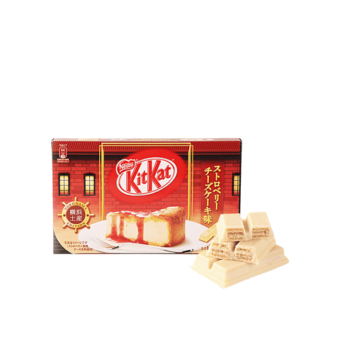 Kit Kat Strawberry Cheese Cake Flavor - 12 PCS Snackoo