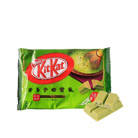 Kit Kat Uji Matcha Chocolate - 146g Snackoo