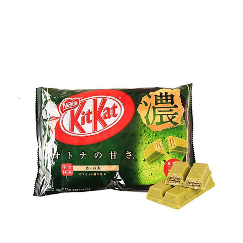 KitKat Rich Matcha Chocolate - 12 PCS Snackoo