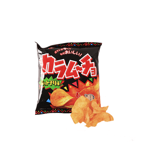 Koikeya Hot Chili Chips - 55g Snackoo