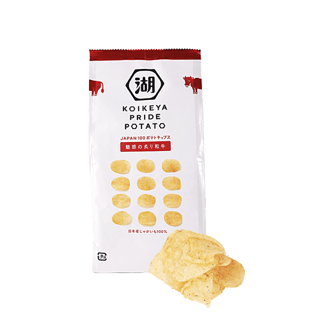 Koikeya Pride Potato Chip Braised Beef Flavor - 63g Snackoo