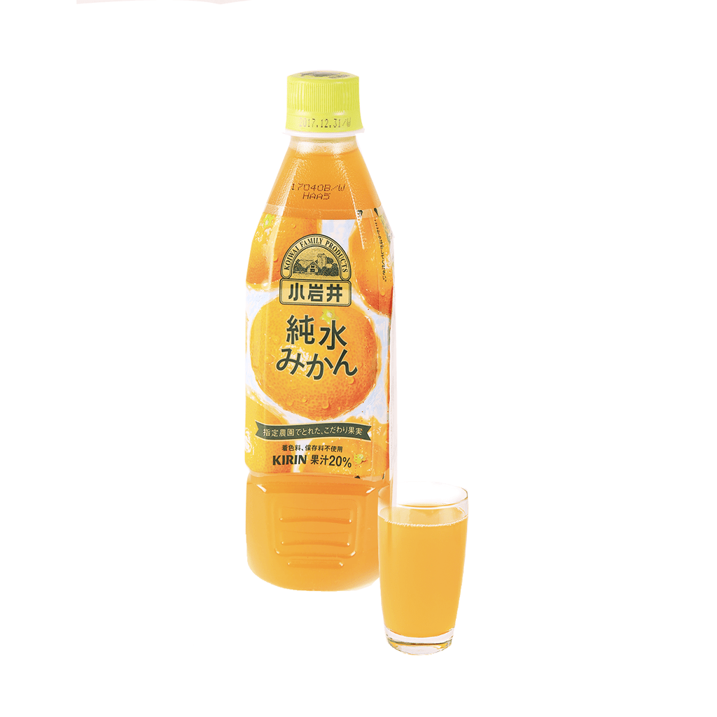 Koiwai Orange Juice - 470ml Snackoo