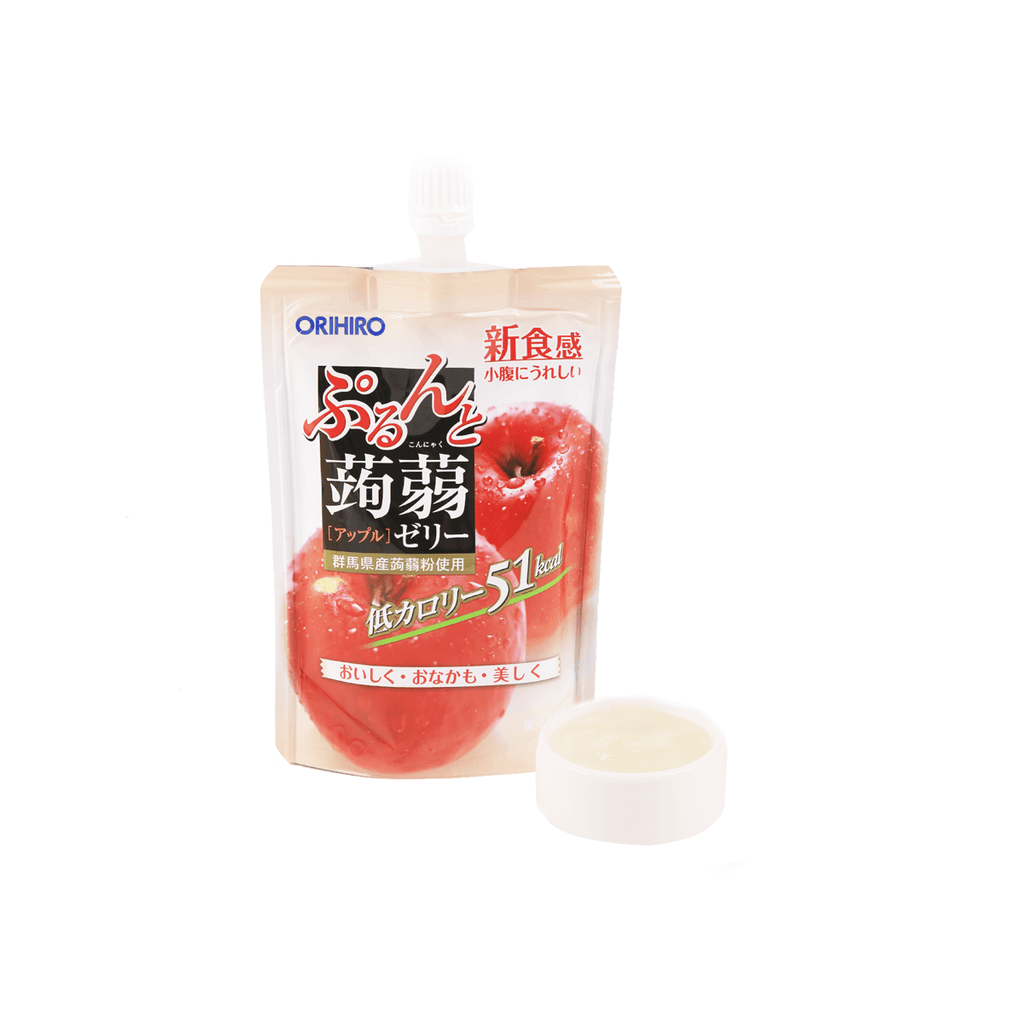 Konnyaku Apple Jelly Drink - 130g Snackoo