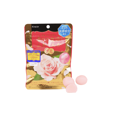 Kracie FUWARINKA Soft Rose Candy -48g Snackoo