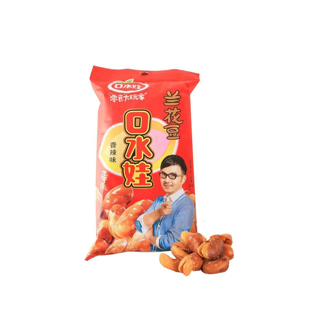 KSW Orchid Beans Spicy Flavor - 88g Snackoo