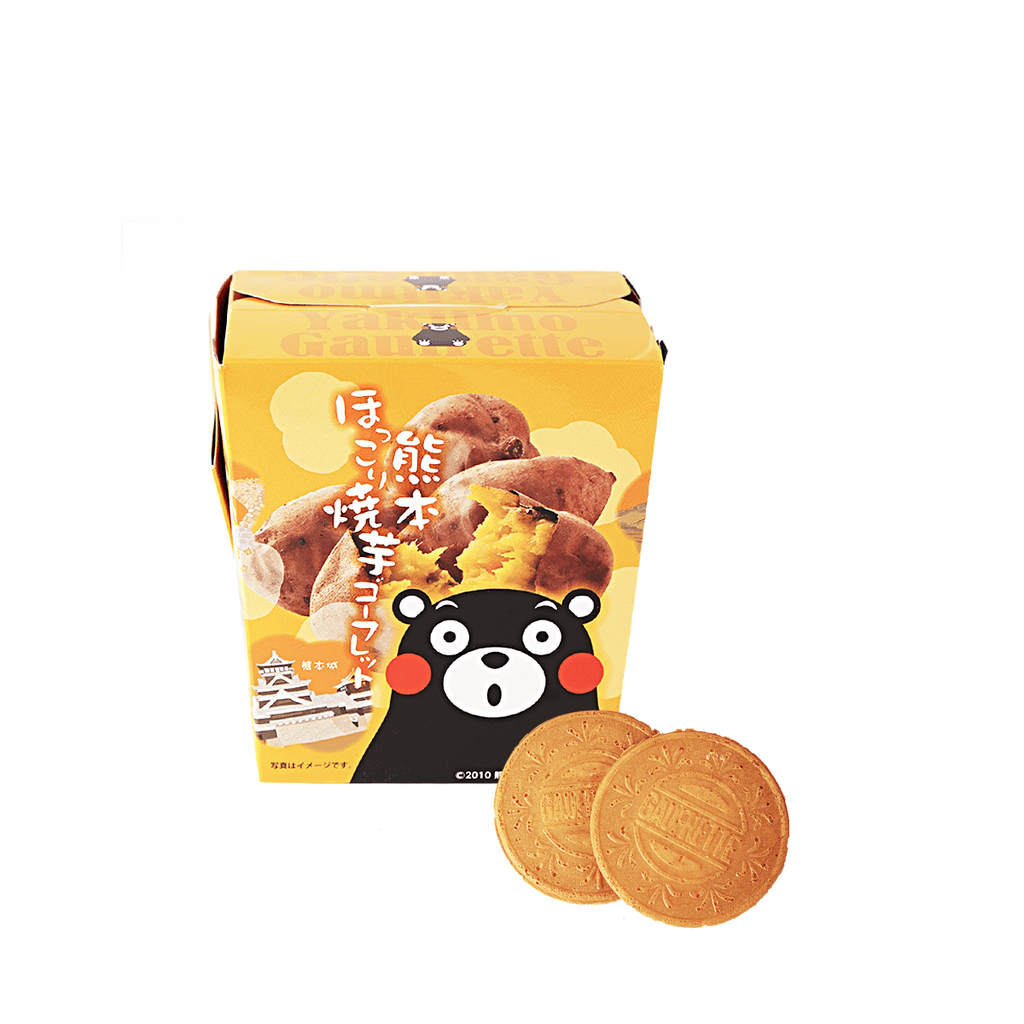 Kumamoto Baked Sweet Potato Cookie - 10 PCS Snackoo