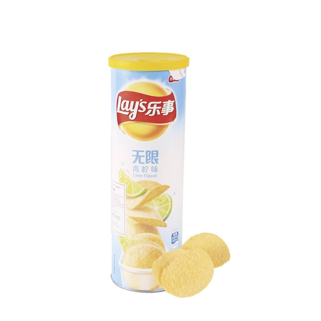 Lay's Potato Chips Lime Flavor Snackoo