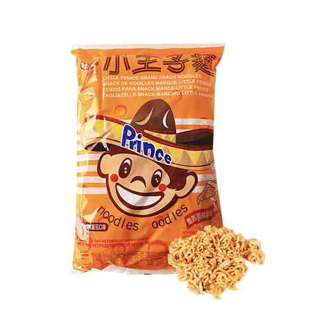Little Prince Snack Noodles Mexican Pizza Flavor - 20 Bags Snackoo