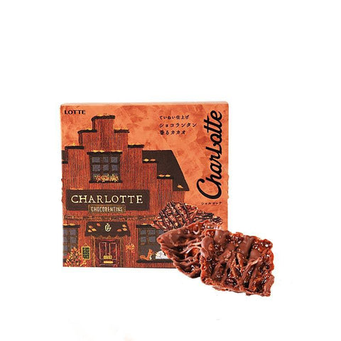 Lotte Charlotte Chocolate Fragrant Cacao - 8 PCS Snackoo