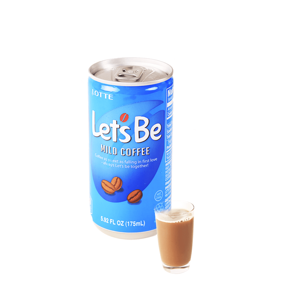 Lotte Lets Be Mild Coffee - 175ml Snackoo
